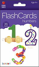 New Bendon Numbers 36-Count Flash Cards - Home School, Education, Teaching