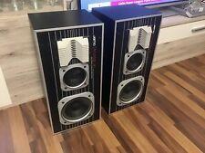Jamo Dynamic 80. Zwei Lautsprecher, schwarz,Vintage HI-FI.Sammlung Auflösung.