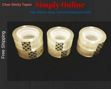 6 PK Clear Sticky Tape Refills - Free Shopping - Quality made -Size: 18mm × 20M