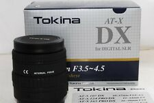 Tokina 10-17mm F3.5-4.5 Fisheye for Digital SLR for Canon Lens from Japan