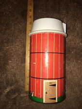 Vintage Fisher Price Toys Little People 1968 Farm Silo from Set #915.