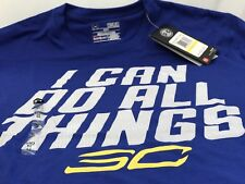 """Under Armour Stephen Curry Sc30 """"I Can Do All Things"""" T-Shirt Size Xl & Xxl"""