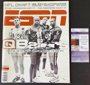 DONOVAN McNABB signed ESPN the Magazine April 1999 Philadelphia Eagles JSA