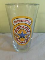New Castle Brown Ale - Pint Beer Glass The One And Only