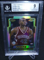 1996-97 Bowman's Best Honor Roll Ref Garnett/Stackhouse Card #10 Graded BGS 9 MT