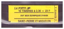 SAINT PIERRE ET MIQUELON  . N° 518 . 2 F 30  CARNET      NEUF  **. SUPERBE