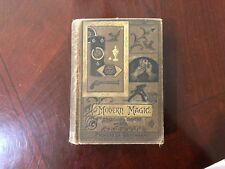 Vintage Old Antique Modern Magic Art of Conjuring Trick Witch Book Hoffmann