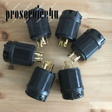 6 x Generator Power NEMA L18-30P Twist-Lock Locking Plug 30A 120/208V