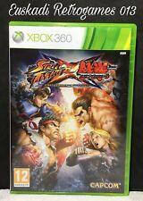 Street Fighter X Tekken // XBOX 360 - Completo // PAL España - Capcom