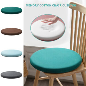 Circle Memory Foam Seat Cushion Support Back Pain Chair Pillow Removable Tatami