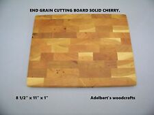 Cherry End Grain Cutting Boards For Sale.