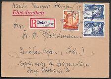 Generalgouvernement covers 1941 R-cover BELCHOV /Deutsche Dienstpost Lothringen
