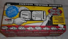 CIPA Custom Towing Mirror Extensions for Pickup's Suburbans Left & Right Black