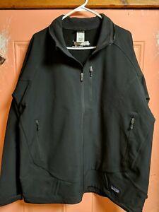 Patagonia Super Guide Soft Shell Jacket Black Men's XXL GREAT SHAPE 2xl LN