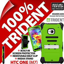 New Trident Kraken AMS Protective Hard Case Tough Cover Shell for HTC One (M7)