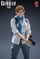 SWtoys 1/6 Sherry Birkin Resident Evil Action Figure FS017 Sydney Platinum Model