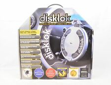 Disklok Steering Wheel Lock - size small (39cm), boxed with accessories