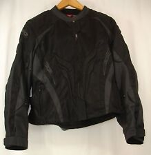 Teknic Women's Supervent Motorcycle Jacket Black 14