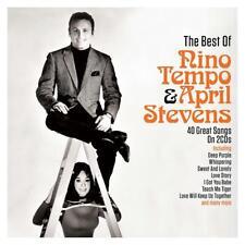 NINO TEMPO & APRIL STEVENS - THE BEST OF (NEW SEALED 2CD Digipak)