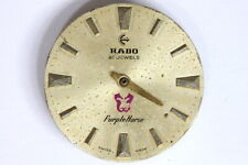 Rado Purple Horse AS 1900/01 incomplete movement for hobby/watchmaker - 141443