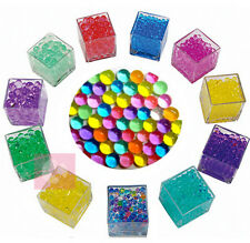 10X bags Jelly Beads Water Plant Flower Crystal Soil Mud Water Pearls Gel Balls