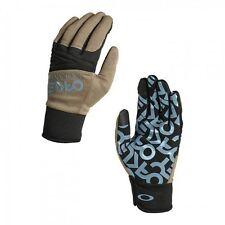 NWT OAKLEY Factory Park GLOVES Rye Tan Blue SNOW BOARD SKI  94281-30w  Mens XL