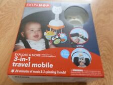 Skip Hop 3-In-1 Travel Mobile. New In Box. Will Include 3 AA Batteries.