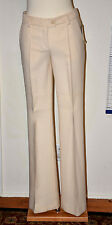 NWT Authentic Women's Moschino CheapAndChick Beige Wool Dress Pants (Size 4-6)