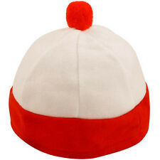 Wheres Wally Fancy Dress Costume Hen Stag Party Red and White Bobble Hat