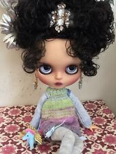 """Custom Factory OOAK Blythe Doll """"Cherelle"""" by Dollypunk21 *FREE SET OF HANDS*"""