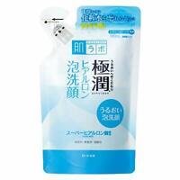 ☀Rohto Hadalabo Gokujyun Super Hyaluronic Acid Deep Moisturizing Cleanser Refill