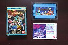 Famicom FC Saint Seiya Ougon Densetsu 1 Boxed Japan import games US Seller