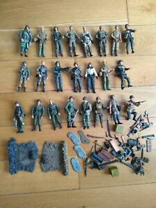 """Unimax / Other brands Military Figures 4"""" - JOB LOT"""