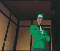 Batman Animated Series Original Production Cel-Riddler-Riddler's Reform