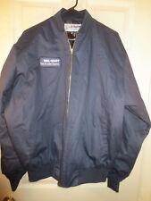 Men's WALMART TIRE & LUBE EXPRESS Uniform Employee Jacket Full Zip Size L/XL