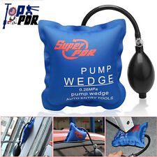 US Inflatable Shim Air Pump Wedge Open Pry Auto Car Windows Doors Entry Bag Tool