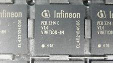 Lot of 4, INFINEON, VINETIC-4M, PEB3314EV1.4, Codecs IC, 2,4 & 8 Channel (385)