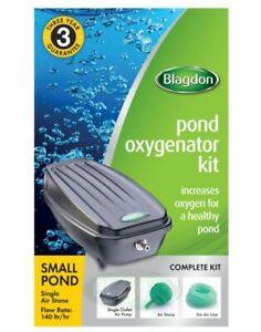 Blagdon Pond Oxygenator Air Stones Complete Aeration Airstone Kits Koi Fish Pond
