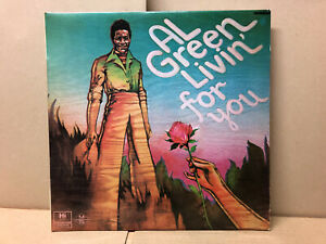 NEW ZEALAND SAMPLE ONLY Al Green - Livin' For You - London Records – SAH.6384
