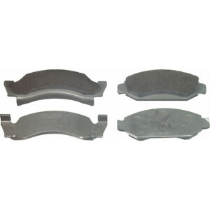 Disc Brake Pad Set-ThermoQuiet Disc Brake Pad Front Wagner MX92