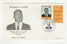 République du Dahomey 2 timbres sur lettre FDC 1968 tampon Cotonou /FDCa130