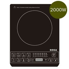 Soga Electric Smart Induction Cook Top Portable Kitchen Cooker Cookware