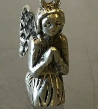 James Avery Retired Praying Angel Charm Sterling Silver