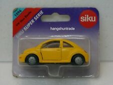 Siku Super 1096 Volkswagen VW New Beetle Bug Yellow Compact Car Vehicle Model