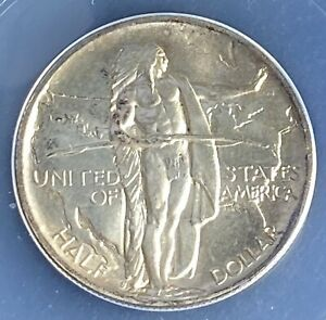 1936-S Oregon Trail Commemorative Silver Half Dollar MS66