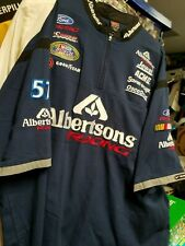 Jason Keller # 57 Albertsons BGN Nike embroidered Pit crew shirt   XL