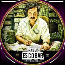 SERIE-COLOMBIA--PABLO ESCOBAR, EL PATRON DEL MAL.  --74 CAPITULOS-15 DVD . 2012