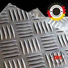 RIFFELBLECH 1500x1500x2,5/4,0mm QUINTETT ALUMINIUM Stoßschutz nirosta Metall