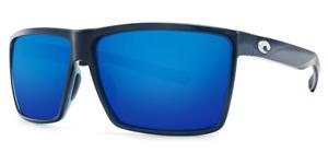 Costa Del Mar RINCON Blue Mirror Sunglasses 580G Glass RIN 11 OBMGLP