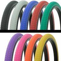 "BICYCLE TIRE 20"" x 1.75 VENDETTA LOWRIDER BMX MTB TRIKE CYCLING BIKE ALL COLORS!"